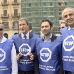 Palermo in piazza contro la violenza sui medici