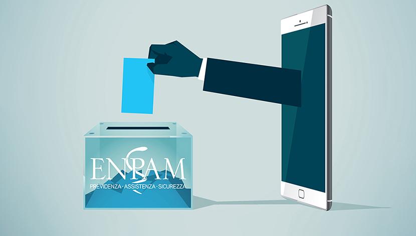 Per votare entra nell'area riservata