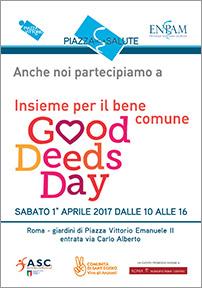 Good Deeds Day in Piazza della Salute